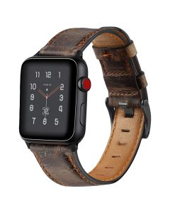 Vintage Apple Watch iwatch cowhide leather strap for apple watch1/2/3/4/5