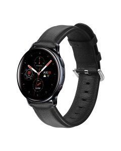 Samsung Galaxy Watch Active 2 smart watch strap, official leather strap