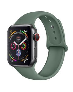 Silicone solid color iwatch strap, for apple watch 1/2/3/4/5