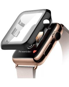 iwatch protective case, Apple watch tempered glass integrated pc protective cover