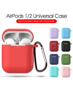 Airpods earphone protective case, the second gen liquid silicone dust-proof and anti falling protective cover