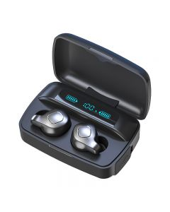 TWS Bluetooth 5.0 headset, high quality intelligent charging compartment, waterproof wireless headset