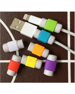 Mobile phone data cable protective cover, mobile phone charging cable protective cover