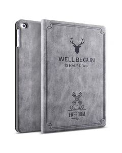 Ultra-thin and all-inclusive retro ipad case with automatic sleep function
