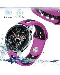 Two-tone silicone strap for Samsung Galaxy watch