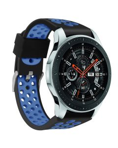 Porous and breathable two-color silicone strap for Samsung Galaxy watch