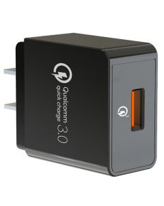 QC3.0 18W Wall Charger PSE CB ETL KC CE FCC